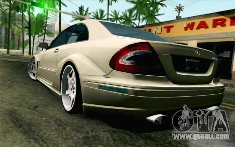 Mercedes-Benz CLK DTM 2004 for GTA San Andreas left view