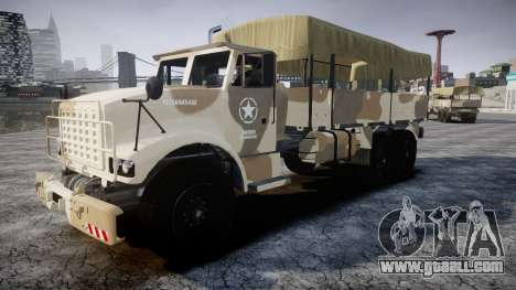 GTA 5 Barracks v2 for GTA 4