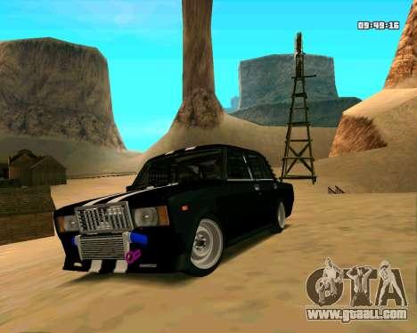 VAZ 2107 CRAMPS for GTA San Andreas