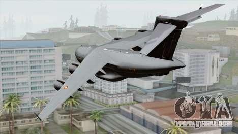 C-17A Globemaster III RAAF for GTA San Andreas left view