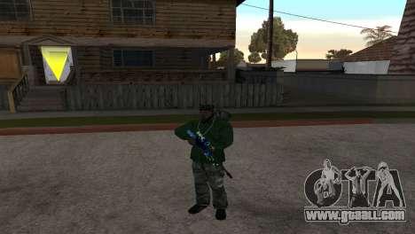 AWP DragonLore из CS:GO for GTA San Andreas second screenshot