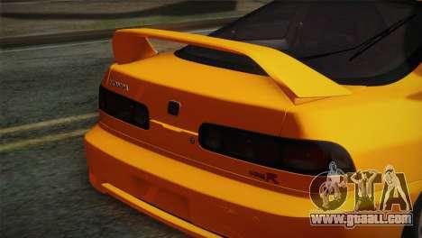 Honda Integra Type R 2000 for GTA San Andreas back view