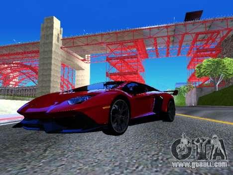 Lamborghini Aventador Novitec Torado for GTA San Andreas right view