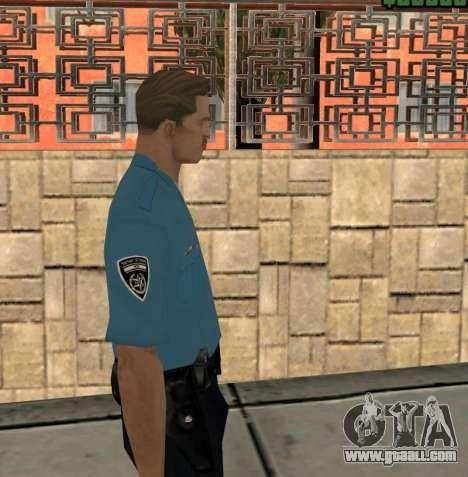 Israeli Police Officer for GTA San Andreas third screenshot