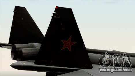 MIG 1.44 China Air Force for GTA San Andreas right view