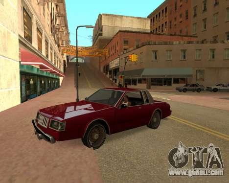 ENB for SAMP by MAKET for GTA San Andreas second screenshot