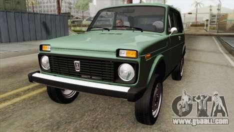 VAZ 2121 for GTA San Andreas