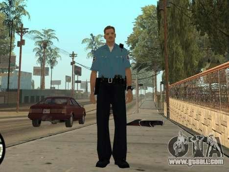 Israeli Police Officer for GTA San Andreas fifth screenshot