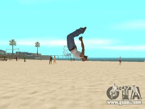 Parkour mod v2.0.4 for GTA San Andreas