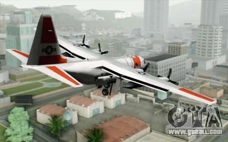 C-130H Hercules Coast Guard for GTA San Andreas left view