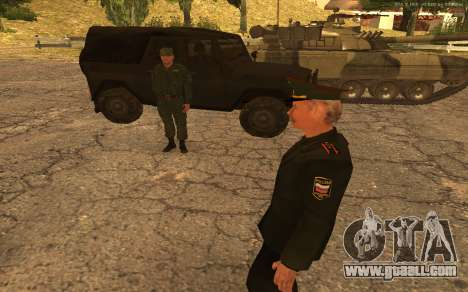 Colonel of the Russian army for GTA San Andreas sixth screenshot