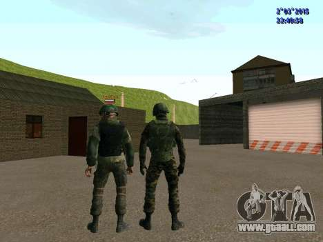 Warrior battalion East for GTA San Andreas sixth screenshot