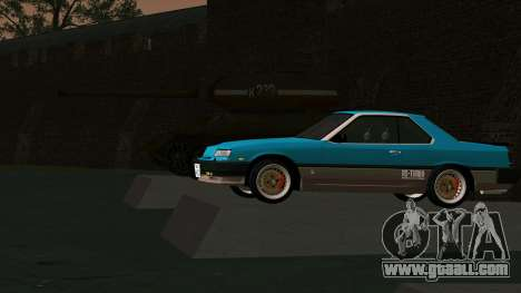 Nissan Skyline 2000 Turbo Intercooler RS-X kouki for GTA San Andreas side view
