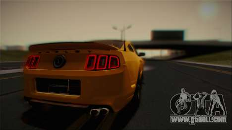Ford Shelby GT500 2013 Vossen version for GTA San Andreas