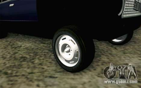 VAZ 21011 Hobo for GTA San Andreas back left view