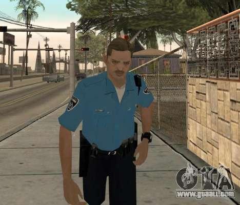 Israeli Police Officer for GTA San Andreas
