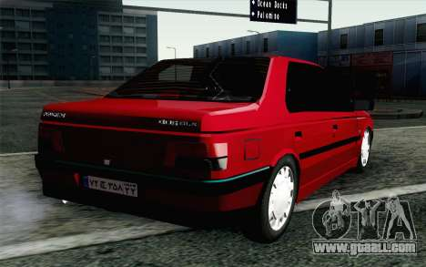 Peugeot 405 Tuning for GTA San Andreas