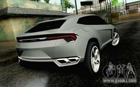 Lamborghini Urus Concept for GTA San Andreas left view