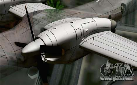 AN-32B Croatian Air Force Closed for GTA San Andreas right view
