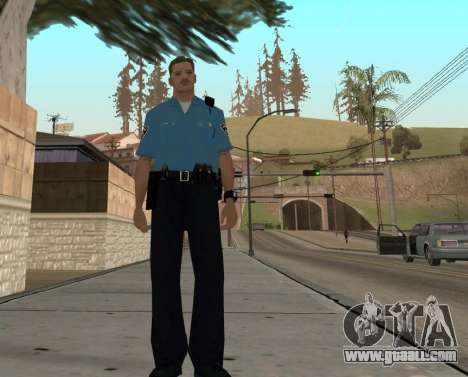 Israeli Police Officer for GTA San Andreas sixth screenshot