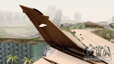 Tornado MIG Eater for GTA San Andreas back left view