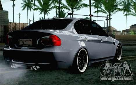 BMW M3 E90 Hamann for GTA San Andreas left view