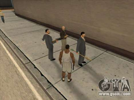 The Russians in the Shopping district for GTA San Andreas tenth screenshot