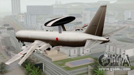 Boeing E-767 Japan Air Self-Defense Force EoJ for GTA San Andreas left view