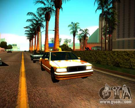 ENB GreenSeries for GTA San Andreas third screenshot