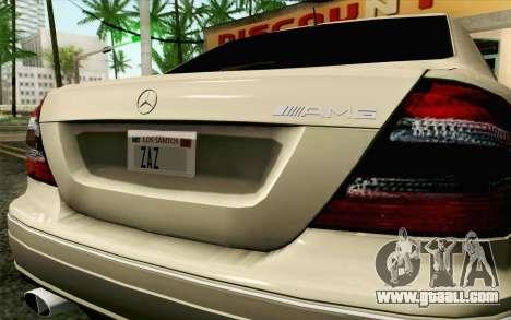 Mercedes-Benz CLK DTM 2004 for GTA San Andreas