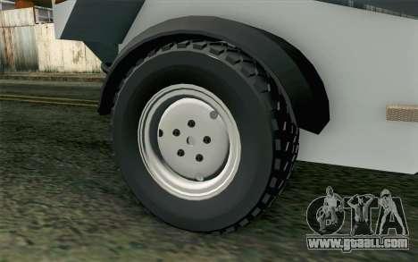 Dacia Logan MXP for GTA San Andreas back left view