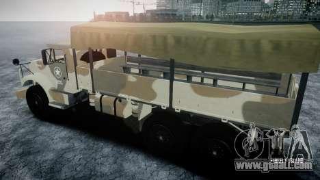 GTA 5 Barracks v2 for GTA 4 side view
