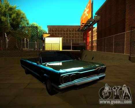 ENB GreenSeries for GTA San Andreas seventh screenshot