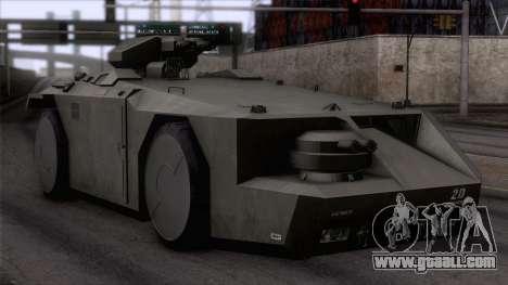Alien APC M577 for GTA San Andreas