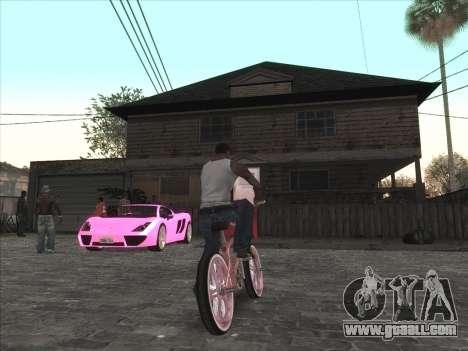 Personal car on Grove Street CJ for GTA San Andreas