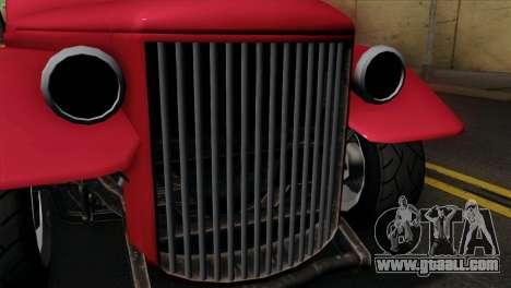 GTA 5 Bravado Rat-Truck IVF for GTA San Andreas right view