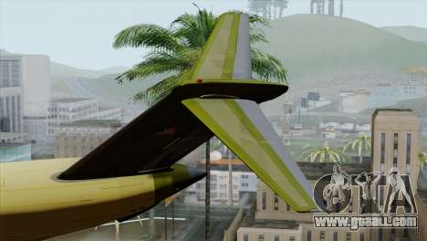 C-17A Globemaster III for GTA San Andreas back left view