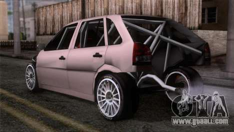 Volkswagen Golf for GTA San Andreas left view