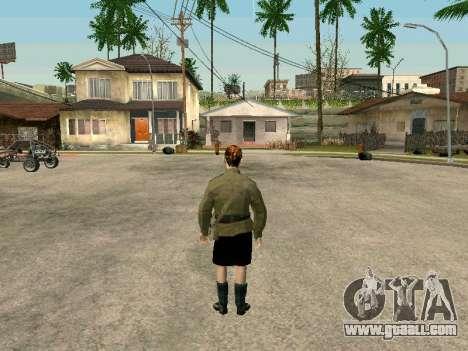 Sergeant military field medicine for GTA San Andreas forth screenshot