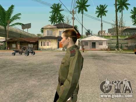 Sergeant military field medicine for GTA San Andreas second screenshot