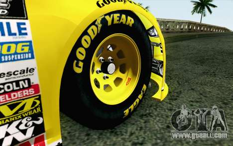 NASCAR Ford Fusion 2013 v4 for GTA San Andreas back left view
