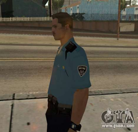Israeli Police Officer for GTA San Andreas second screenshot