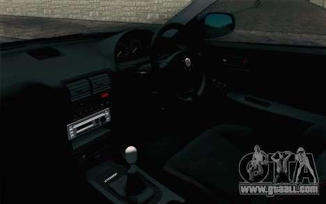 Honda Integra Type R 2000 Stock for GTA San Andreas right view