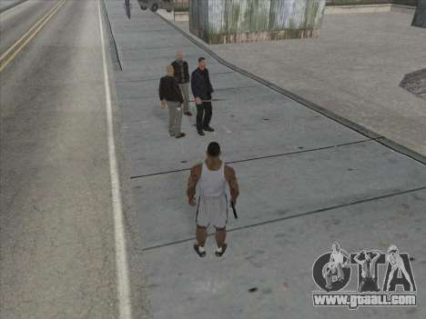 The Russians in the Shopping district for GTA San Andreas seventh screenshot