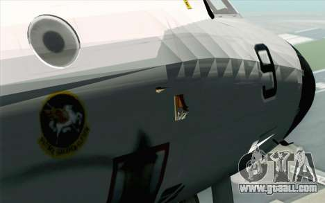 Lockheed P-3 Orion VP-11 US Navy for GTA San Andreas back view