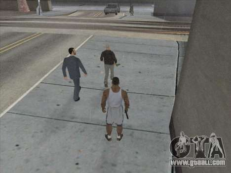 The Russians in the Shopping district for GTA San Andreas eighth screenshot