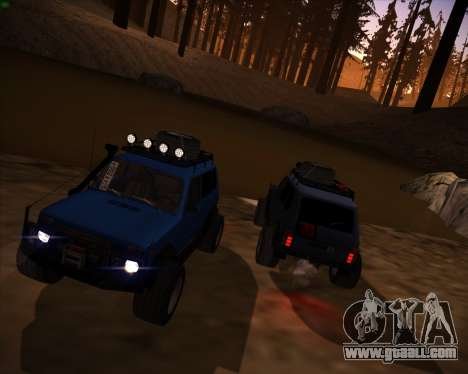 VAZ 2131 Niva 5D OffRoad for GTA San Andreas right view