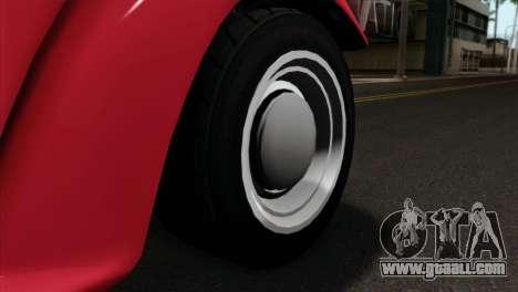 GTA 5 Bravado Rat-Truck IVF for GTA San Andreas back left view