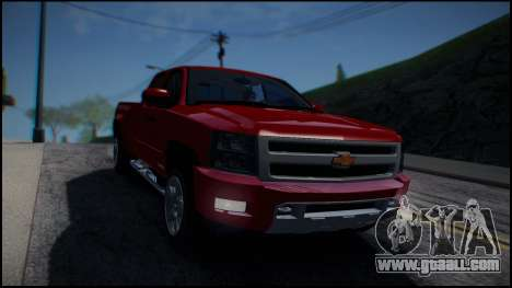 Chevrolet Silverado 1500 HD Stock for GTA San Andreas back view