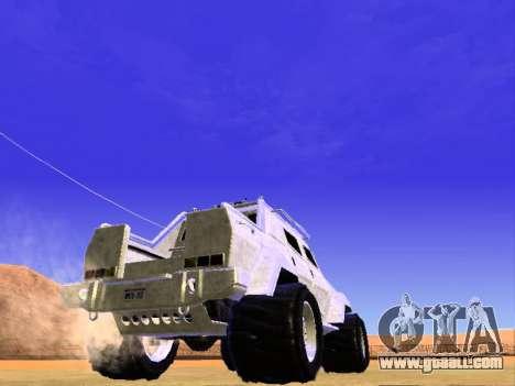 HVY Insurgent Pickup for GTA San Andreas